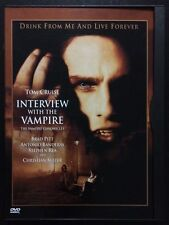 Interview with the Vampire (DVD, 2000, Special Edition) Tom Cruise, Brad Pitt
