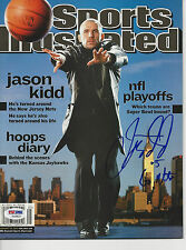 JASON KIDD (Nets) Signed SPORTS ILLUSTRATED w/ PSA/DNA COA (NO Label)