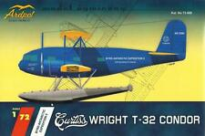 CURTISS T-32 CONDOR II W/FLOATS - BYRD ANTARCTIC EXPEDITION II MKGS  1/72 ARDPOL