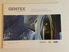 Gentex Aircrew Systems Product Catalog High Performance Flight Equipment 2016