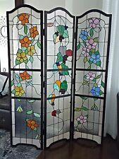 Meyda Tiffany Stained Glass Room Divider Custom Solid Built Top Quality