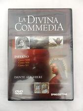 LA DIVINA COMMEDIA INFERNO Canti XIII XIV XV n.5 DeAgostini Collezione DVD