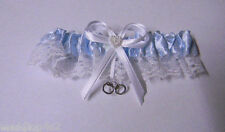 Wedding Party Ceremony ~Handcuffs Charm~ Police Cop Correction Garter Blue Toss