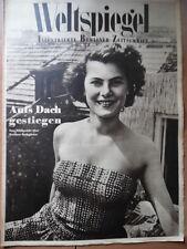 WELTSPIEGEL 32 - 1950 Korea Krieg Berliner Dachgärten Berliner Radio-Programm