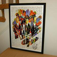The Beatles John Lennon Paul McCartney George Harrison Ringo Starr POSTER w/COA8