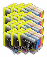 12 LC970 Bk/C/M/Y Ink Cartridges for Brother MFC-260C