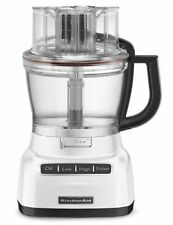 New KitchenAid 13-Cup Wide Mouth Food Processor KFP1355 Big Size White