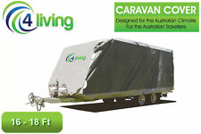 Caravan Covers 16-18ft caravan accessories, side access,securing straps,warranty