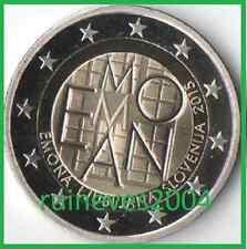 2 Euro Slowenien 2015 - 2000   Jahre römische Siedlung EMONA heute Ljubljana