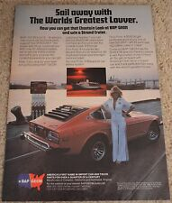 1978 BAP GEON Louver Shadow Original Magazine Color Ad Datsun 280Z