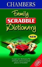 Chambers Family Scrabble Dictionary by Chambers (2001, Hardcover)