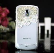 Samsung Galaxy Nexus i9250 Hard Case Perlen Cover Schutz Hülle Etui 3D klar