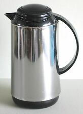"Thermal Coffee Carafe Pitcher Server 10.5"" Plastic Lid Handle FREE SH"