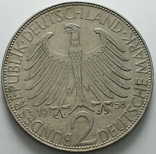 1958    Germany  2  Mark  D