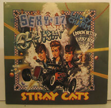 "Stray Cats ""Sexy & 17"" - Two 45rpm Set w/ Gate-fold PS EX Cond. Store Stock!"