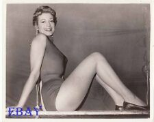 Joanna Lee busty leggy VINTAGE Photo On Trial