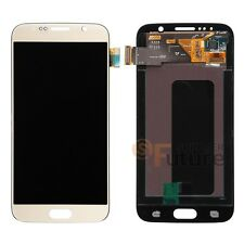 Gold Samsung Galaxy S6 G920A G920T LCD Display Touch Screen Digitizer + Frame