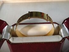 FAB 1960s 9ct ROLLED GOLD BANGLE / BRACELET SUPER CONDITION