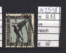 FRANCOBOLLI GERMANIA REICH USATI N°A33 (A2598)
