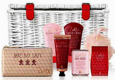 ZOELLA Sumptuous Wicker Basket Pamper Hamper Large Christmas Gift Set New Boxed