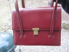 VINTAGE LOCK & KEY ACCORDION HANDBAG MADE IN FRANCE FOR BLOOMINGDALES