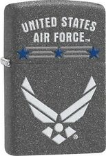 Zippo 29121 united states air force iron stone finish Lighter