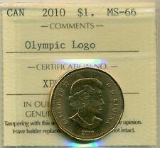 "2011 Canada $1.00 ""Parks Canada"" Certified ICCS MS-66"