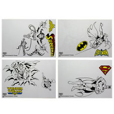 Batman  Superman Stickers Character gadget Laptop Decals Vinyl Stickers Gift