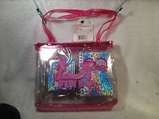 Pink Panther Purse W/Diary, Furry Pin & Pic Frame Blockbuster Exclusive 2001 NIP