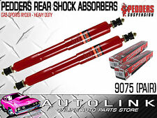 PEDDERS GSR REAR SHOCK ABSORBERS SUIT FORD MUSTANG COUPE & CONV 1965 - 1973 (x2)