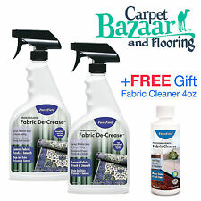 2 ForceField Fabric De-Creas - 22oz each + FREE Gift - Fabric Cleaner 4oz Bottle