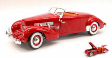 1:18 Autoworld ERTL 1937 CORD 812 CONVERTIBLE RED ROAD &TRACK COVER-SONDERPREIS!