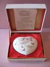 Vintage 1975 VALENTINE HEART Cupid Noritake III Limited Ed Bone China Made Japan
