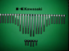 Kawasaki Z500 Z550 GPz550 Engine SS Stainless Allen Screw Kit *UK FREEPOST* New