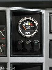 Jeep Cherokee & Comanche '84-'96 In-Dash - Gauge & 3 LED Rocker Switch Panel