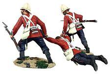 British 24th Foot Rescue 3 piece set Zulu Wars William Britains 20177  54mm