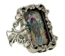 NEW Disney The Little Mermaid URSULA Stained Glass Filigree Costume Ring
