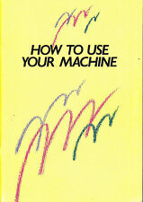Brother KH400/KH395 Convertable Knitting Machine Manual in PDF format on CD