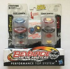 HASBRO BEYBLADE CRUSHING BLAST 2-PACK ROCK ZURAFA BB-78A/ TORCH GEMIOS B-131 USA