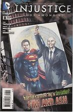 INJUSTICE: GODS AMOUNG US #8 - MICO SUAYAN COVER - 1st PRINTING - 2013