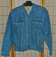Jacket Blue Jean With Logos Hard Rock Cafe Size L Truckers