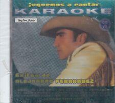 Alejandro Fernandez Exitos  Karaoke Nuevo Sealed
