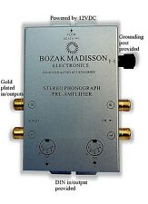 Bozak M CLK-PH8 Phono Preamp Preamplifier Turntable Amplifier Pre-Amp DIN in/out