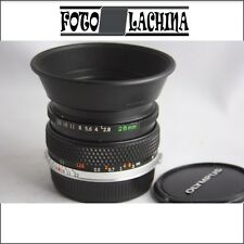 OLYMPUS OM  ZUIKO auto -W 28 mm f2,8 manual focus  per OM 1 -2 -10 ecc..