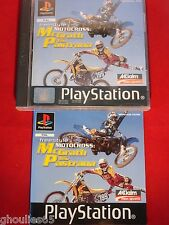 FREESTYLE MOTOCROSS MCGRATH VS PASTRANA PLAYSTATION 1 MOTO CROSS PS1 PS2 PS3