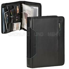 Conference folder with handle A4 Black portfolio Orga Tablet compartment