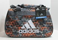 ADIDAS Diablo Small Print Duffle Gym Bag Crusher Ultra Bright/Onix-NWT!