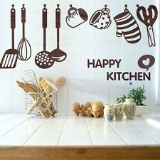 Hot Vinyl Removable Wall Decal Decor Sticker Kitchen Cooking Utensil Spatula
