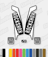 Rockshox sid 2015 / 2016 style Stickers autocollants - 2 Couleur Pack designer