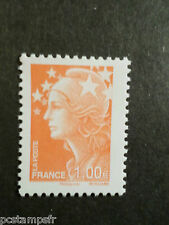 FRANCE 2009 timbre 4418, COULEURS MARIANNE BEAUJARD EUROPE, neuf**, MNH STAMP
